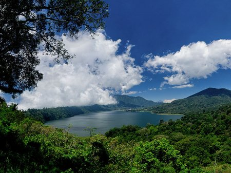 Lake Buyan. Panoramic view